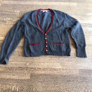 Legit Men's vintage wool cardigan